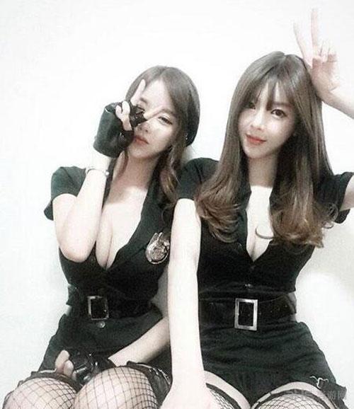 韩国女主播bj阿英最新私照欣赏