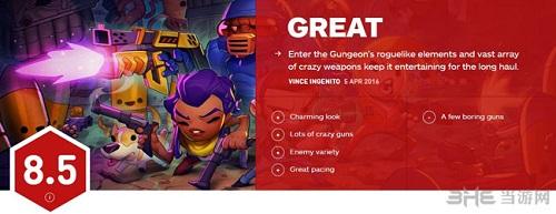 挺进地牢IGN评分