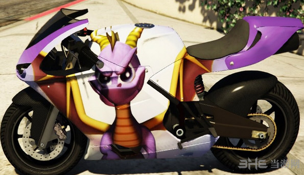 侠盗猎车手5动漫游戏涂装摩托车MOD截图1