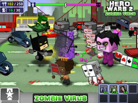 英雄战争2:僵尸病毒电脑版截图0