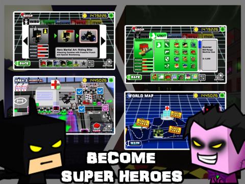 英雄战争2:僵尸病毒电脑版截图1