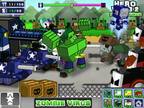 英雄战争2:僵尸病毒电脑版截图2