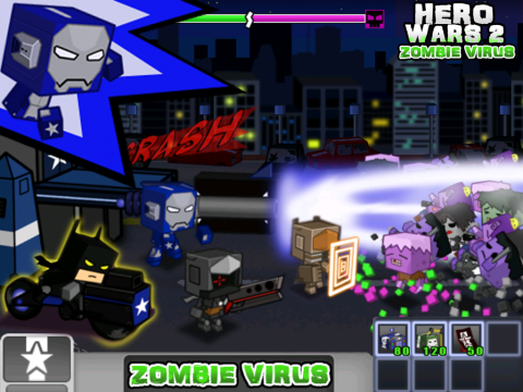 英雄战争2:僵尸病毒电脑版截图3