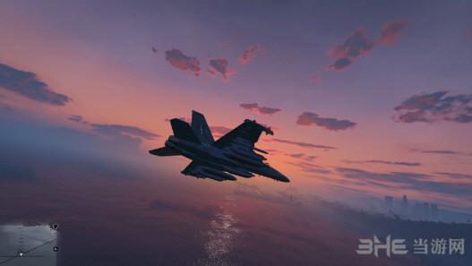 侠盗猎车手5添加式EA-18Gt和黑鹰飞机MOD截图2