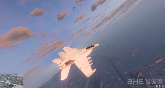侠盗猎车手5添加式EA-18Gt和黑鹰飞机MOD截图0