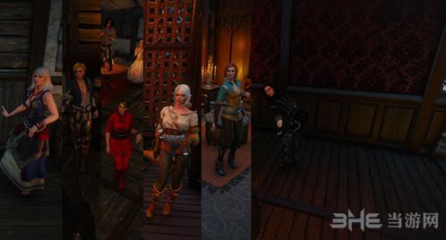 巫师3:狂猎妓院NPC替换MOD截图0