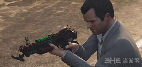 侠盗猎车手5射线枪马克2MOD截图0