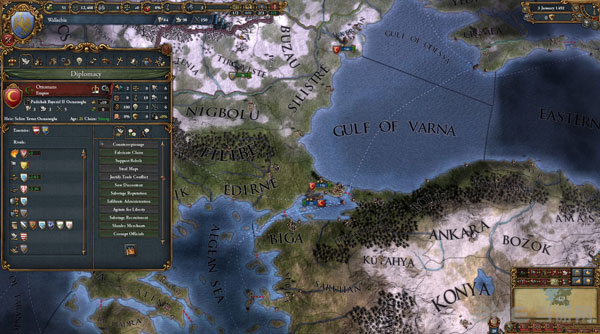 欧陆风云4:地中海截图3