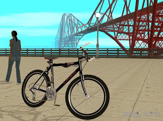 侠盗猎车手圣安地列斯山地自行车MOD截图0