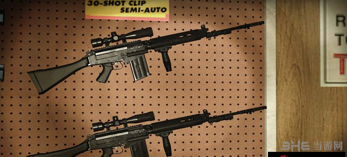 求生之路2 L1A1 SLR狙击步枪MOD截图1