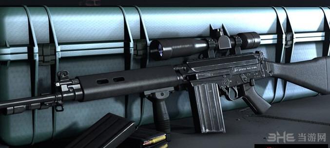 求生之路2 L1A1 SLR狙击步枪MOD截图0