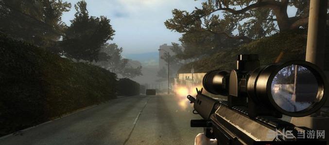 求生之路2 L1A1 SLR狙击步枪MOD截图3