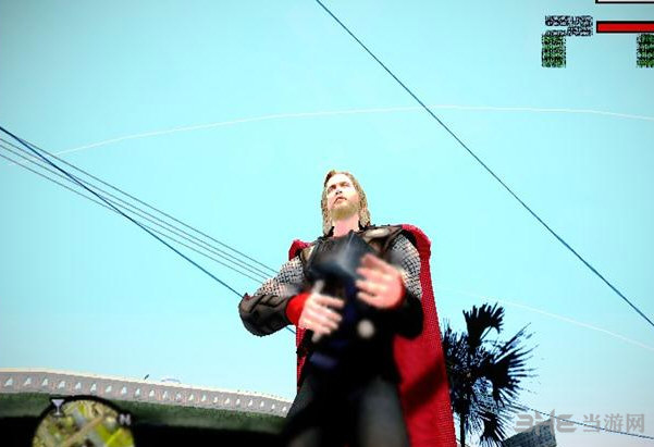 侠盗猎车手圣安地列斯复仇者联盟人物MOD截图1