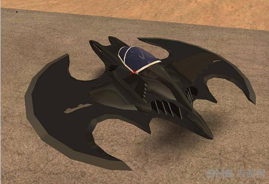 侠盗猎车手圣安地列斯蝙蝠侠飞行器MOD截图0