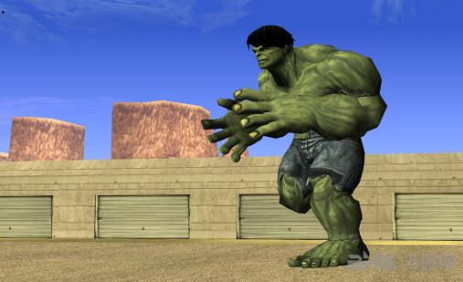侠盗猎车手圣安地列斯绿巨人MOD截图0