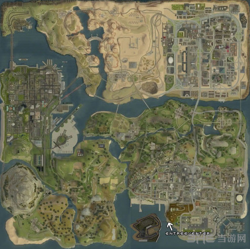 侠盗猎车手圣安地列斯赛道地图MOD截图0