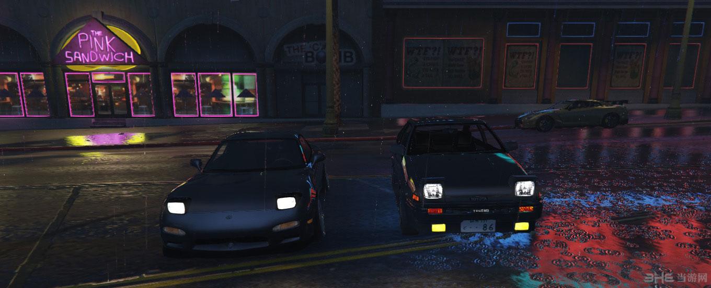 侠盗猎车手5各种附加车辆自动弹出头灯MOD截图2