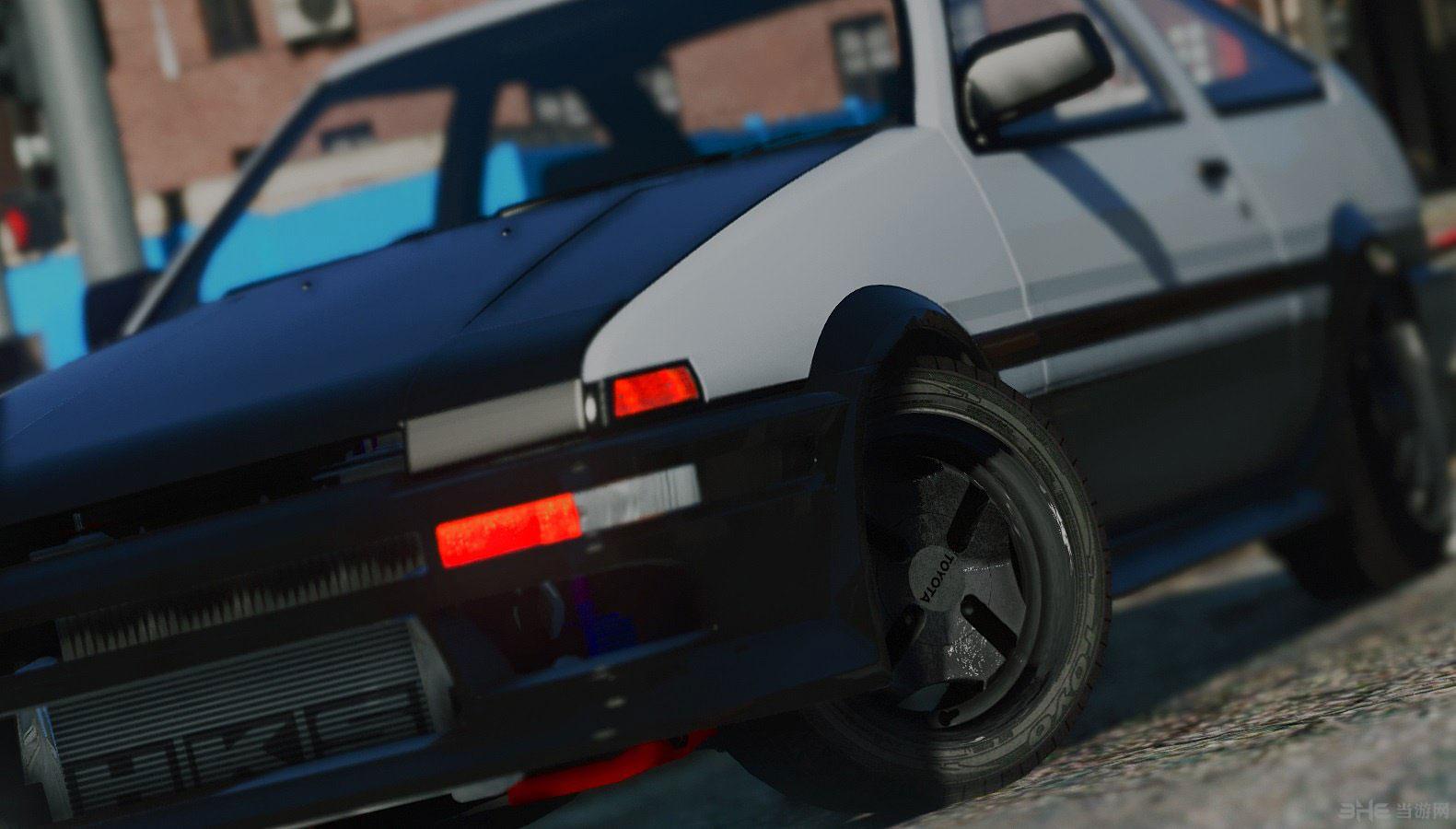 侠盗猎车手5丰田AE86凌特包MOD截图0