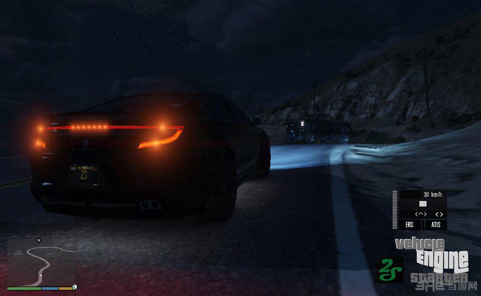 侠盗猎车手5汽车发动机启动-自主驱动功能MOD截图2