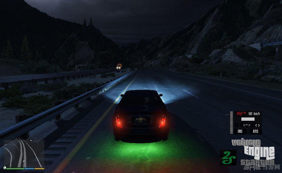 侠盗猎车手5汽车发动机启动-自主驱动功能MOD截图3