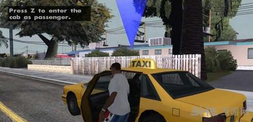 侠盗猎车手圣安地列斯出租车MOD截图0