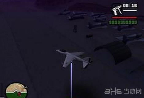 侠盗猎车手圣安地列斯飞机激光炮MOD截图0