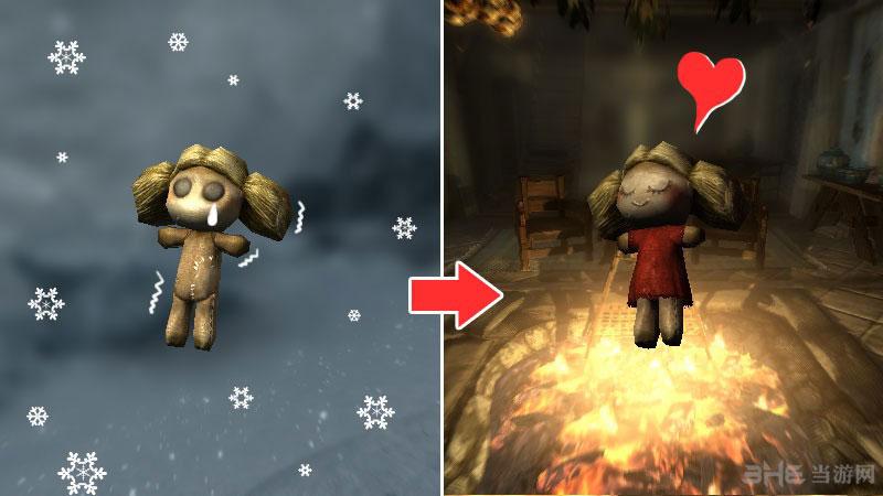 上古卷轴5天际炉火熊小孩玩偶美化MOD截图0
