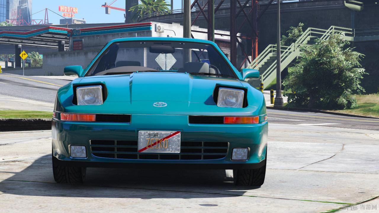 侠盗猎车手5丰田Supra涡轮增压1992年MK3 MOD截图2