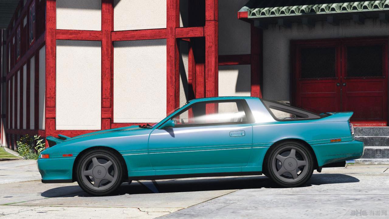 侠盗猎车手5丰田Supra涡轮增压1992年MK3 MOD截图3
