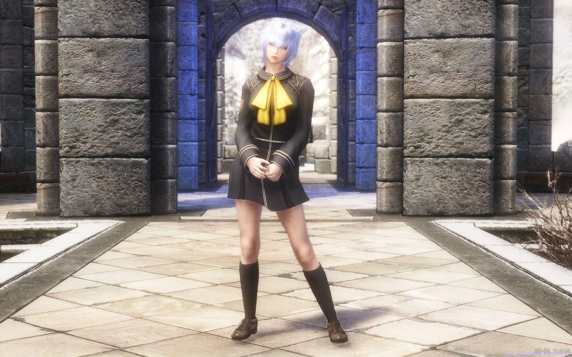 上古卷轴5天际最终幻想8学院制服MOD截图3