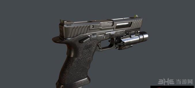 求生之路2使命召唤网络版格洛克18手枪MOD截图1