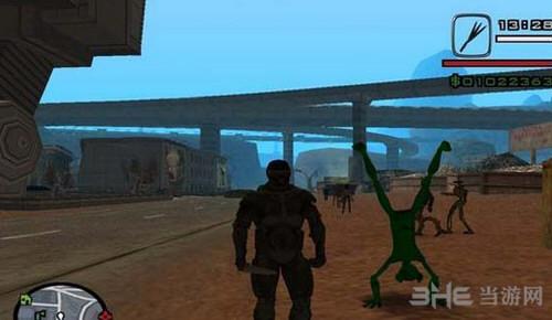侠盗猎车手圣安地列斯外星都市MOD截图1