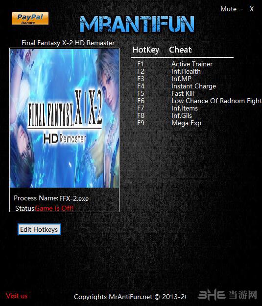 最终幻想10/10-2高清重制版八项修改器截图1