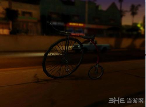 侠盗猎车手圣安地列斯大轮自行车MOD截图0