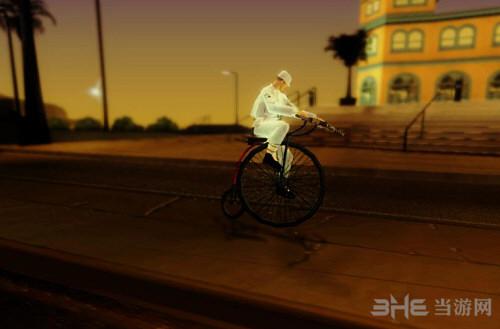 侠盗猎车手圣安地列斯大轮自行车MOD截图1