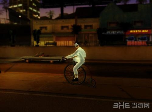 侠盗猎车手圣安地列斯大轮自行车MOD截图2