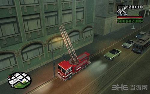 侠盗猎车手圣安地列斯消防车MOD截图2