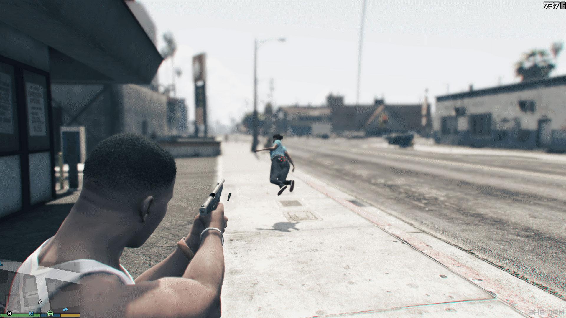 侠盗猎车手5子弹击退MOD截图0