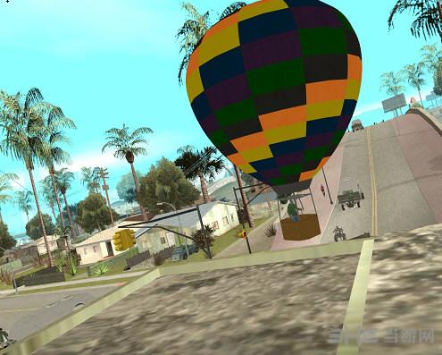 侠盗猎车手圣安地列斯热气球MOD截图0