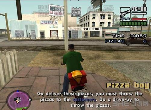 侠盗猎车手圣安地列斯送披萨MOD截图1