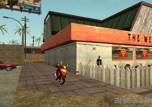侠盗猎车手圣安地列斯送披萨MOD截图2