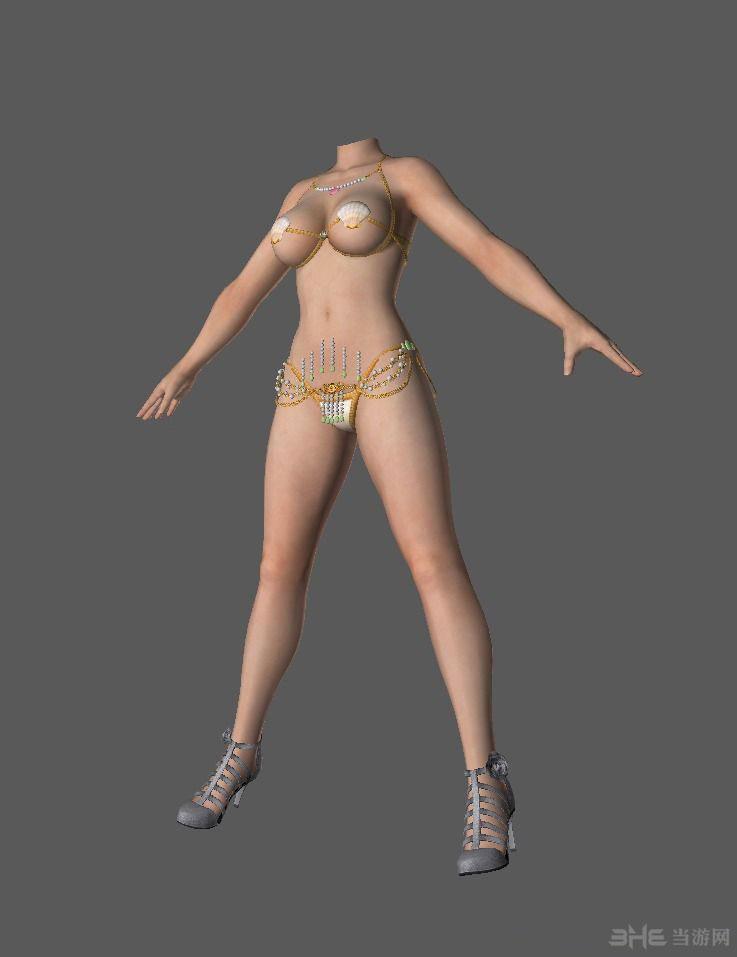 死或生5:最后一战海莲娜完美贝壳裝MOD截图0