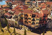 狙击精英4游戏截图欣赏 在意大利小镇中潜行刺杀