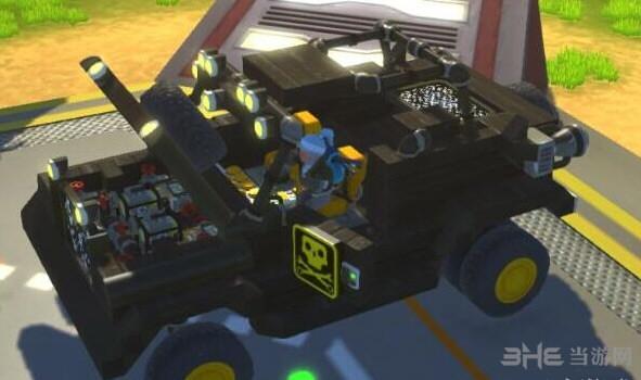 废品机械师伸缩敞篷一体悬挂越野jeep存档截图1