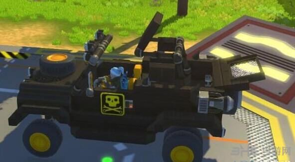 废品机械师伸缩敞篷一体悬挂越野jeep存档截图2