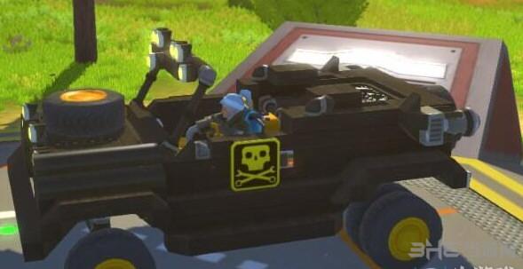 废品机械师伸缩敞篷一体悬挂越野jeep存档截图3