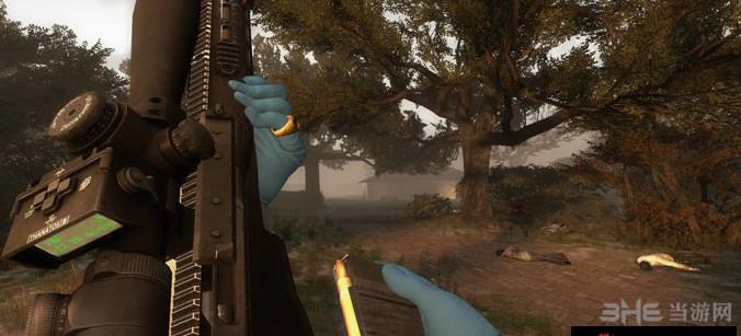 求生之路2收获日2雷明顿MSR狙击步枪MOD截图0