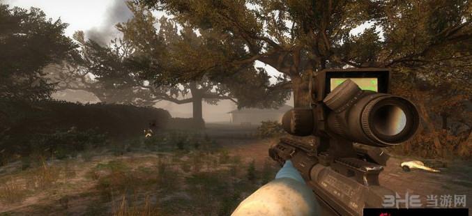 求生之路2收获日2雷明顿MSR狙击步枪MOD截图1