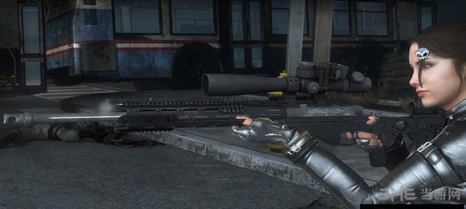 求生之路2收获日2雷明顿MSR狙击步枪MOD截图2