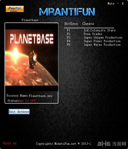 星球基地五项修改器截图0